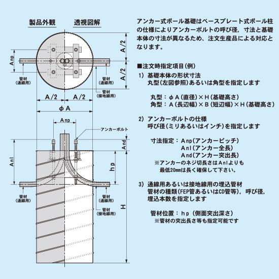 アンカー式(注文生産品)